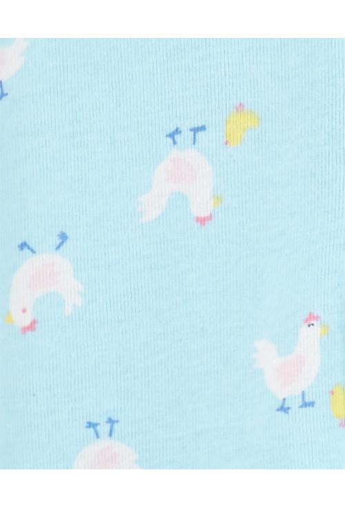 Carter's Set 2 piese pijamale bebe Puisori