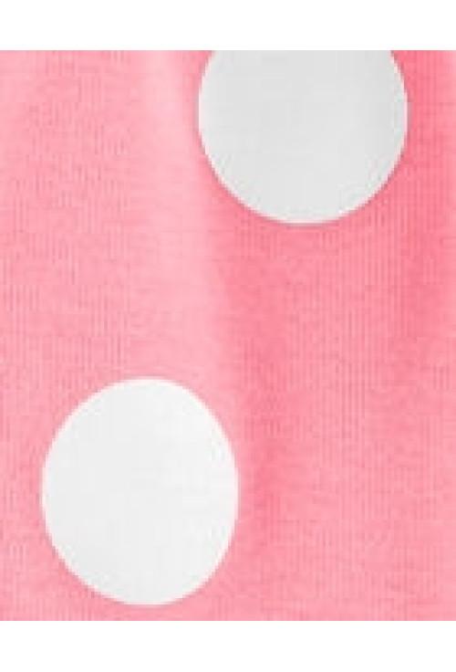 Carter's Set 2 piese rochita cu buline & cardigan