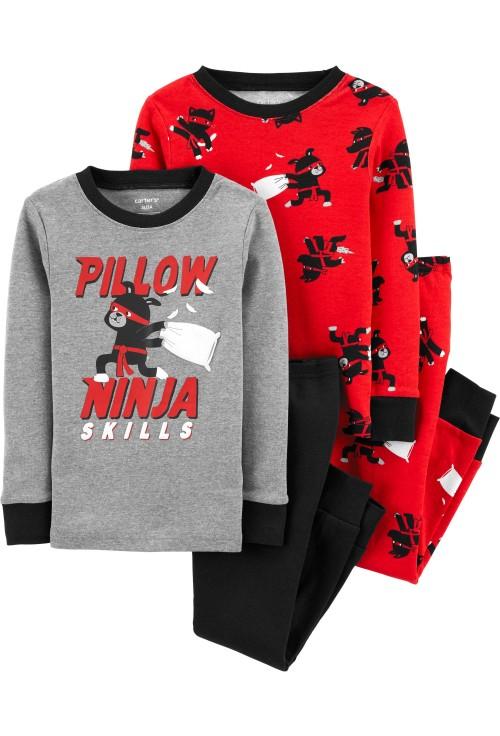 Carter's Set 2 pijamale Ninja