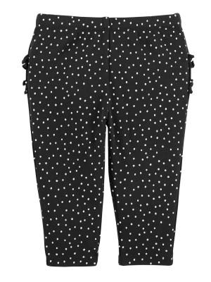 Carter's Set 2 Piese – pantaloni lungi cu fundiță & volănașe