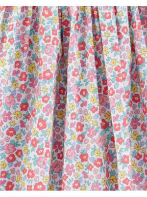 OshKosh Rochiță florală cu volănașe 100% bumbac