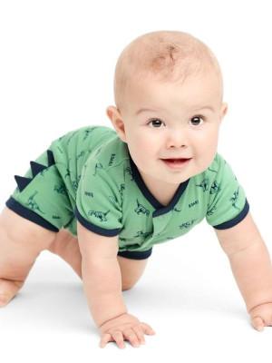 Carter's Body dinozaur 100 %bumbac