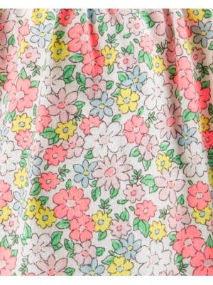Carter's Body tip rochiță florală cu volănașe 100% bumbac