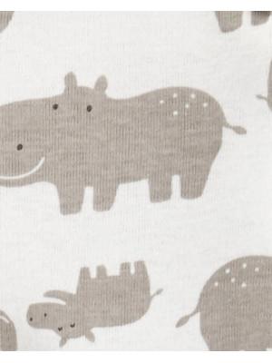 Carter's Set 6 piese body bebelus Hipopotam