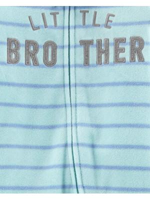 Carter's Pijama cu dungi, Micul fratior