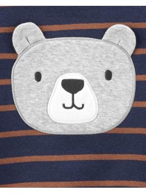 Carter's Set 3 piese Ursuleț body, bluză & pantaloni