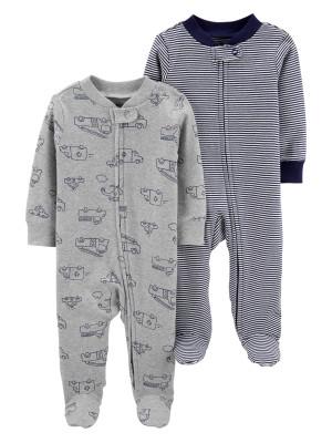 Carter's Set 2 Pijamale masinute