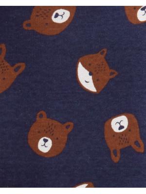 Carter's Set 3 piese Ursuleț vestă, pantaloni & body