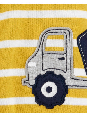 Carter's Pijama galbena camion