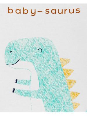 Carter's Set 4 Piese Dinozaur