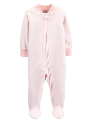 Carter's Pijama Din Velur Cu Dungi