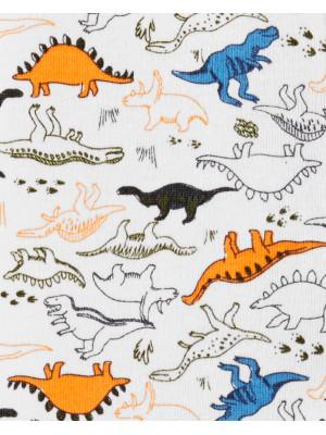 Carter's Pijama bebe cu fermoar reversibil Dinozaur