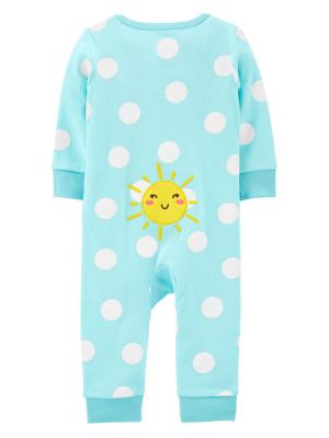 Carter's Pijama cu fermoar reversibil Soare