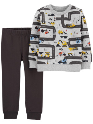 Carter's Set 2 piese bluză & pantaloni masini