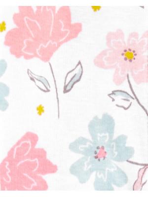 Carter's Pijama Flori 100% Bumbac Organic