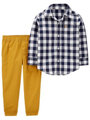 Carter's Set 2 Piese cămașă & pantaloni