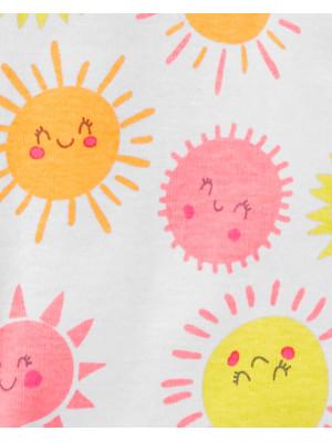 Carter's Pijama cu fermoar bebelus Soare