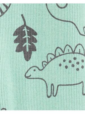 Carter's Pijama cu fermoar reversibil bebelus Dinozauri