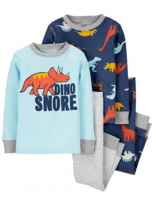 Carter's Set 2 pijamale Dino