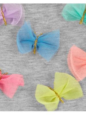 Carter's Rochie cu fundițe multicolore