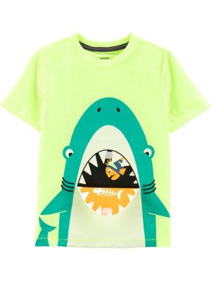 Carter's Tricou interactiv cu rechin
