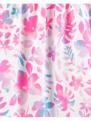 OshKosh Rochie cu flori roz