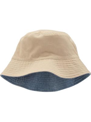 Carter's Pălărie cu două fețe albastru & crem