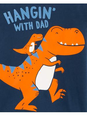 Carter's Bluză cu mânecă lungă Dinozauri