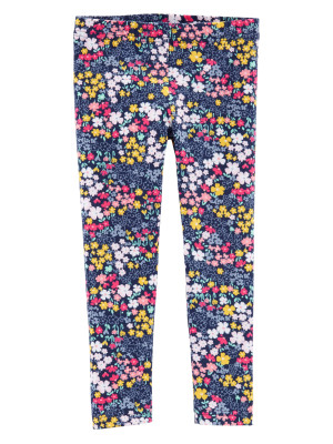 Carter's Pantaloni bleumarin, floral