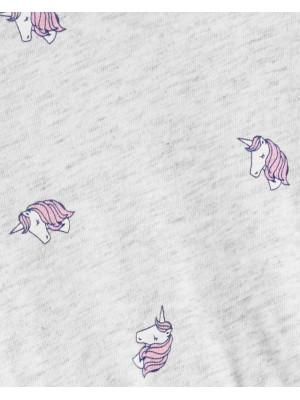 Oshkosh Rochita cu print unicorni si fustita din tulle