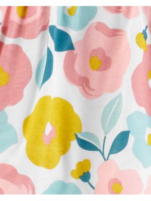 Carter's Set 2 Piese Floral bluză & pantaloni