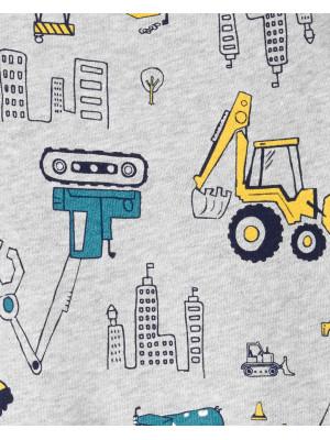 Carter's Set 2 piese bluză si pantaloni, Constructii