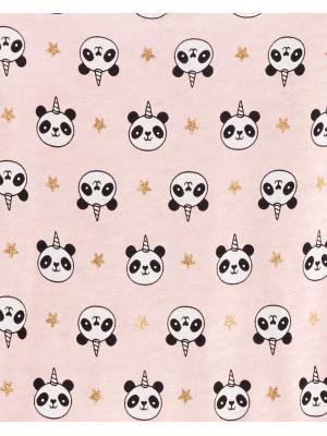 Carter's Set 2 Piese Rochițe Panda & cu dungi