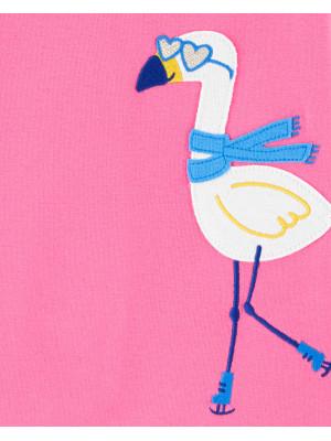 Carter's Set 2 pijamale Flamingo