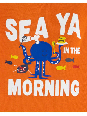 Carter's Set 2 pijamale creaturi marine