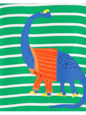 Carter's Set 2 pijamale Dinozauri