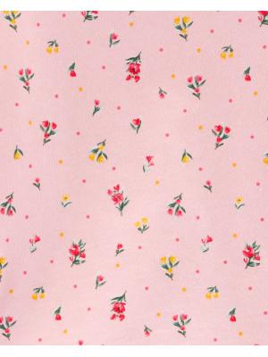 Carter's Set 2 Piese bluză & pantaloni cu flori