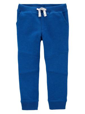 Carter's Pantaloni albastri cu șnur în talie