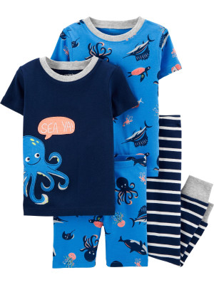 Carter's Set 2 pijamale Caracatita