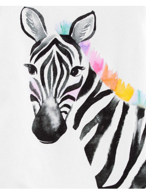 Carter's Tricou Zebra