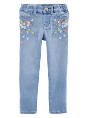 Oshkosh Jeans colanti cu broderie