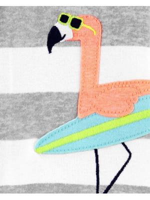 Carter's Pijama Flamingo Surf