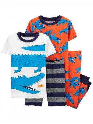 Carter's Set 2 pijamale Aligator