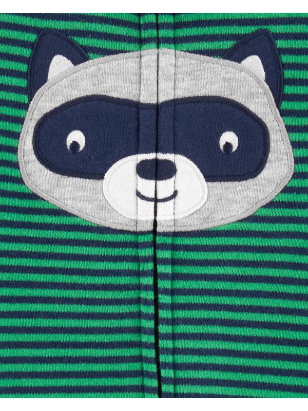 Carter's Pijama cu dungi, Raton