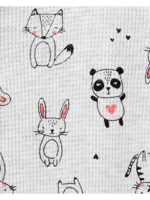 Carter's Pijama cu fermoar Animale