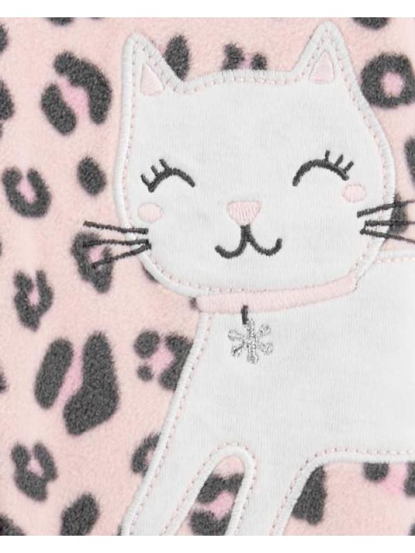 Carter's Pijama Fleece Pisicuta