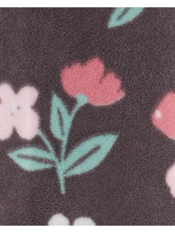 Carter's Salopetă florală cu glugă