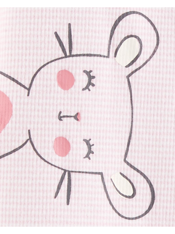Carter's Pijama bebelus roz Soricei