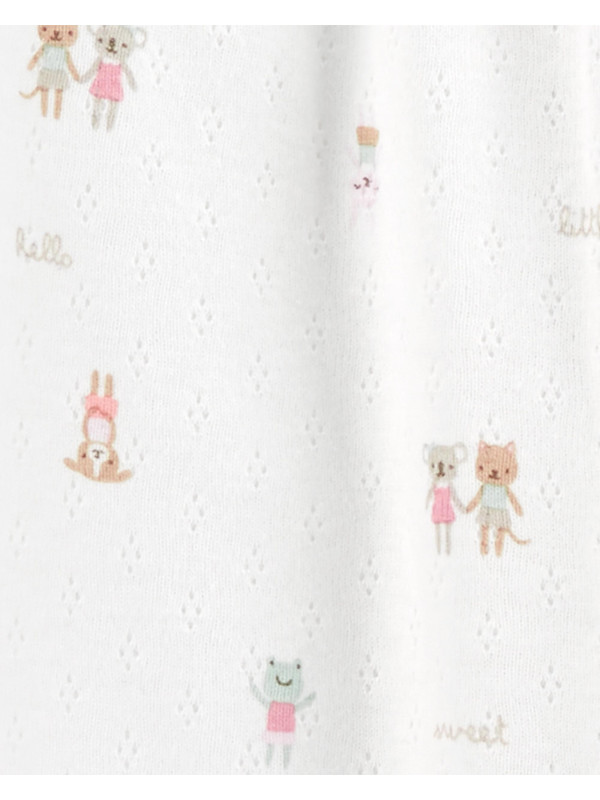 Carter's Pijama ivoire bebelus Animale