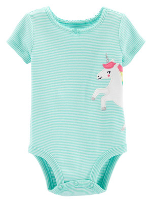 Carter's Body unicorn 100% bumbac